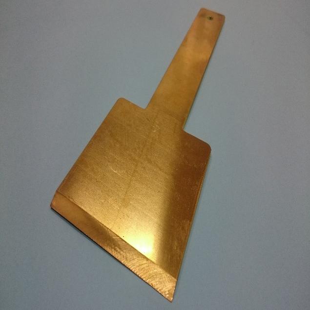 真鍮板 開先加工